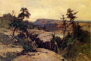 George Henry Smillie - Lac Mohonk