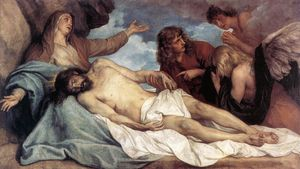 Anthony Van Dyck - le lamentation du christ