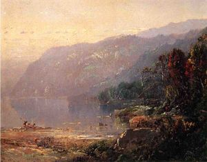 William Louis Sonntag - paysage au