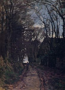 Claude Monet - Lane en Normandie