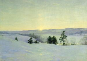 Walter Launt Palmer - The Last Glrem