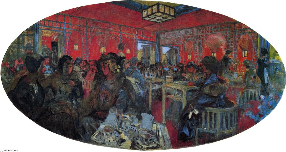 'Le Grandiose Teddy' Tea-Room, fresques de Jean Edouard Vuillard (1868-1940, France)