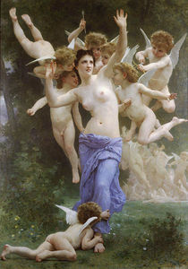 William Adolphe Bouguereau - Le Guepier
