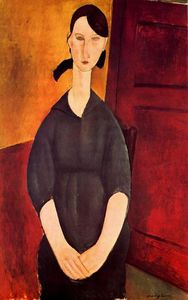 Amedeo Modigliani - Portrait de Paulette Jourdain