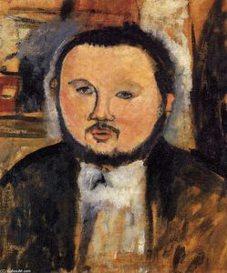 Amedeo Modigliani - Portrait de Diego Rivera