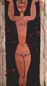 Amedeo Modigliani - Permanent Caryatide