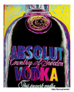 Andy Warhol - Absolut Vodka