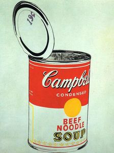 Andy Warhol - Campbell-S soupe can ( boeuf )