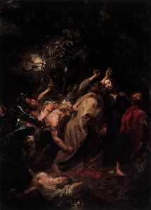 Anthony Van Dyck - la capture de  jésus christ