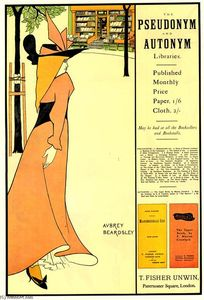 Aubrey Vincent Beardsley - affiche publicitaire pour The Yellow Book