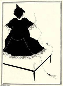 Aubrey Vincent Beardsley - Salomé sur Settle