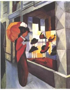 August Macke - La Boutique Hat
