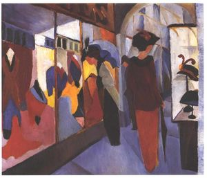 August Macke - mode magasin