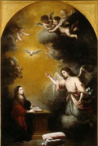 Bartolome Esteban Murillo - lannonciation