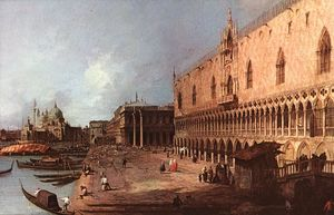 Giovanni Antonio Canal (Canaletto) - Palais des Doges