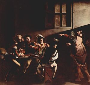 Caravaggio (Michelangelo Merisi) - vocation des saint matthieu