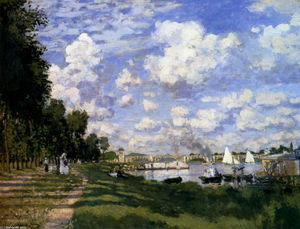 Claude Monet - le port de plaisance à argenteuil