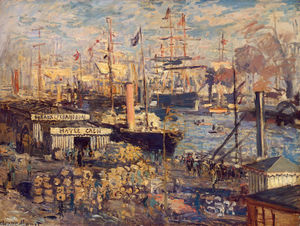 Claude Monet - Le Dock Grand Havre