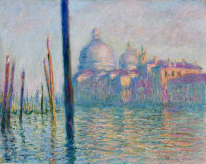 Claude Monet - le grand canal dans venise 01