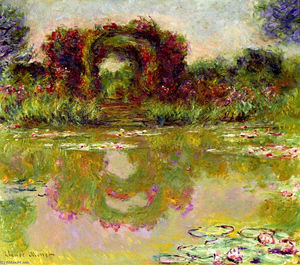 Claude Monet - Rose Arches à Giverny