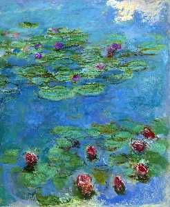 Claude Monet - nénuphars rouge