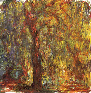 Claude Monet - Weeping Willow (8)