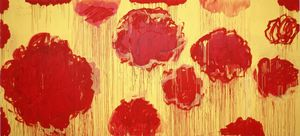 Cy Twombly - Untitled (série Pivoines)