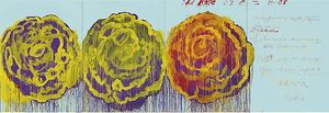 Cy Twombly - Le Rose ( III )