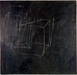 Cy Twombly - nuit regarder