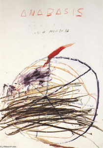 Cy Twombly - Anabasis (Xénophon)