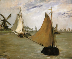 Edouard Manet - vue d' holland