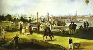 Edouard Manet - l-exposition universelle