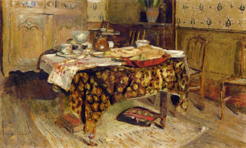 La Table Setting, 1903 de Jean Edouard Vuillard (1868-1940, France)