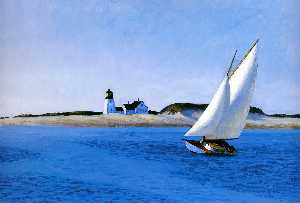 Edward Hopper - la longue jambe