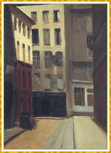 Edward Hopper - paris rue