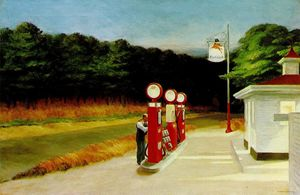Edward Hopper - gaz