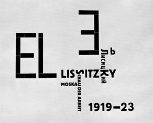 El Lissitzky - couverture de catalogue