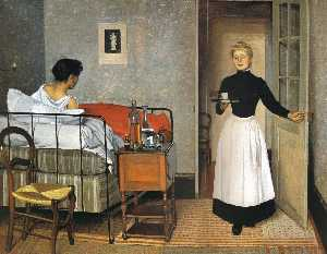 Felix Vallotton - Le Patient