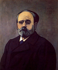 Felix Vallotton - Portrait de Zola