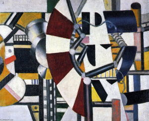 Fernand Leger - éléments de machines