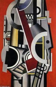Fernand Leger - Eléments de machines