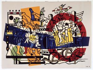 Fernand Leger - le grand parade
