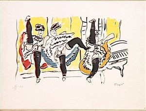 Fernand Leger - Le Cancan