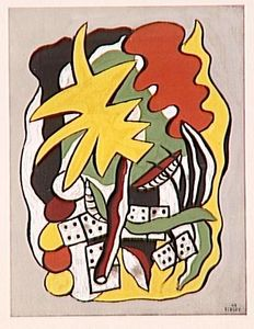 Fernand Leger - dominos Composition