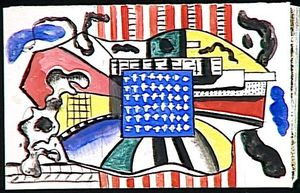 Fernand Leger - New York
