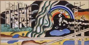 Fernand Leger - forces de transport