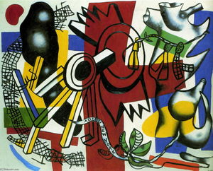Fernand Leger - New York, au revoir