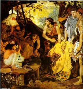 Ford Madox Brown - jacob et `joseph's` coat