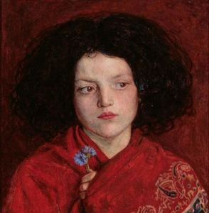 Ford Madox Brown - le irlandais fille