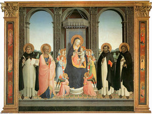 Fra Angelico - San Domenico Retable